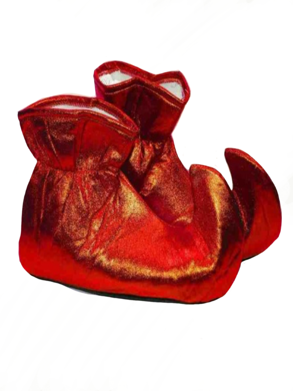 elf shoes red christmas accessories sunbury costumes