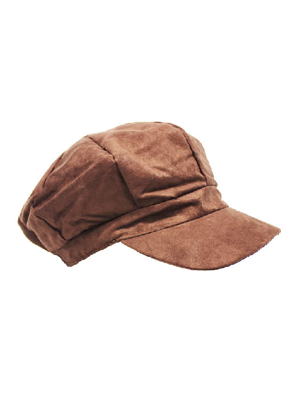 poor boy cap dark brown suede 100 days of prep sunbury costumes