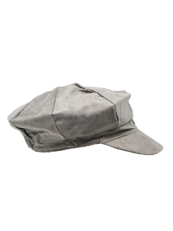 paper boy cap grey suede 100 days of prep sunbury costumes