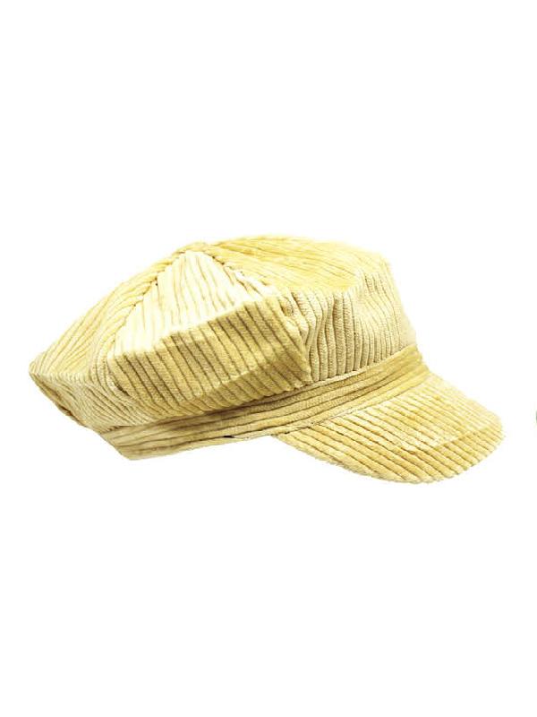 paper boy cap corduroy cream sunbury costumes